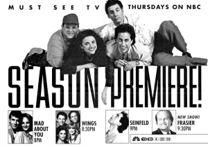 Mad About You, Seinfeld, Frasier, Wings