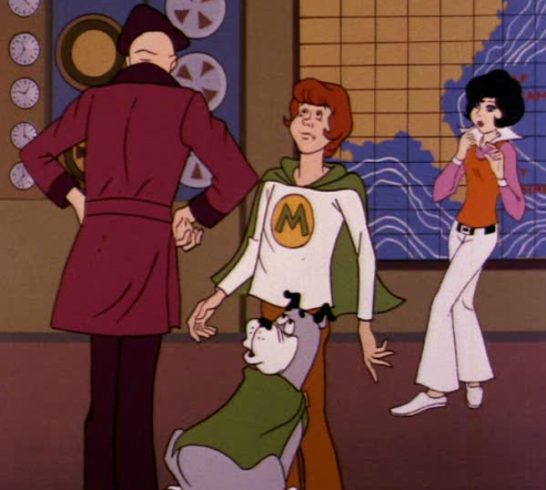Thinkwik confronts Wonder Dog, Marvin, and Wendy