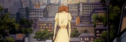 Misaki walks home