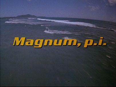 Magnum PI titlecard