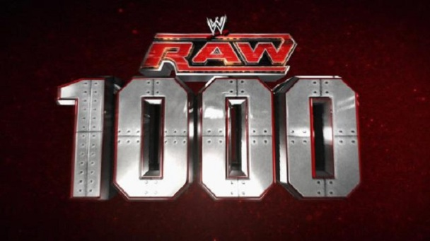 Raw 1000th episode