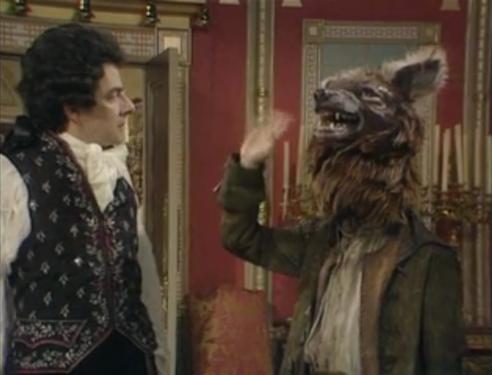 """Oh no Baldrick! You is a warwilf!"""