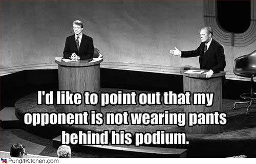 Gerald Ford Quotes Captivating Debate Night Fordcarter 1976  This Was Television