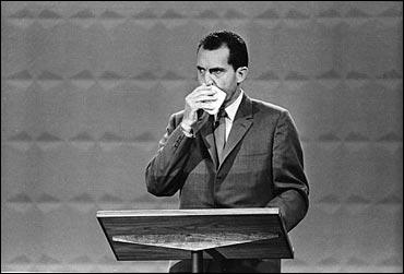Sweaty Nixon
