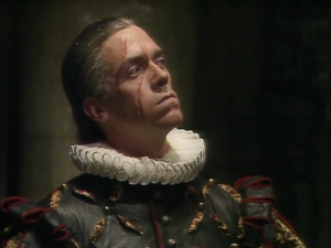 Hugh Laurie as Prince Ludwig the Indestructible.