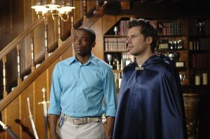 Gus (Dule Hill) on Psych