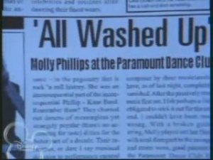 "Molly Phillips, all washed up? Well, she IS ""sorta famous""..."