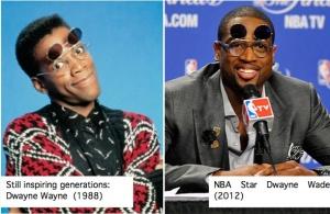 Comparing Dwayne Wade and Dwayne Wayne