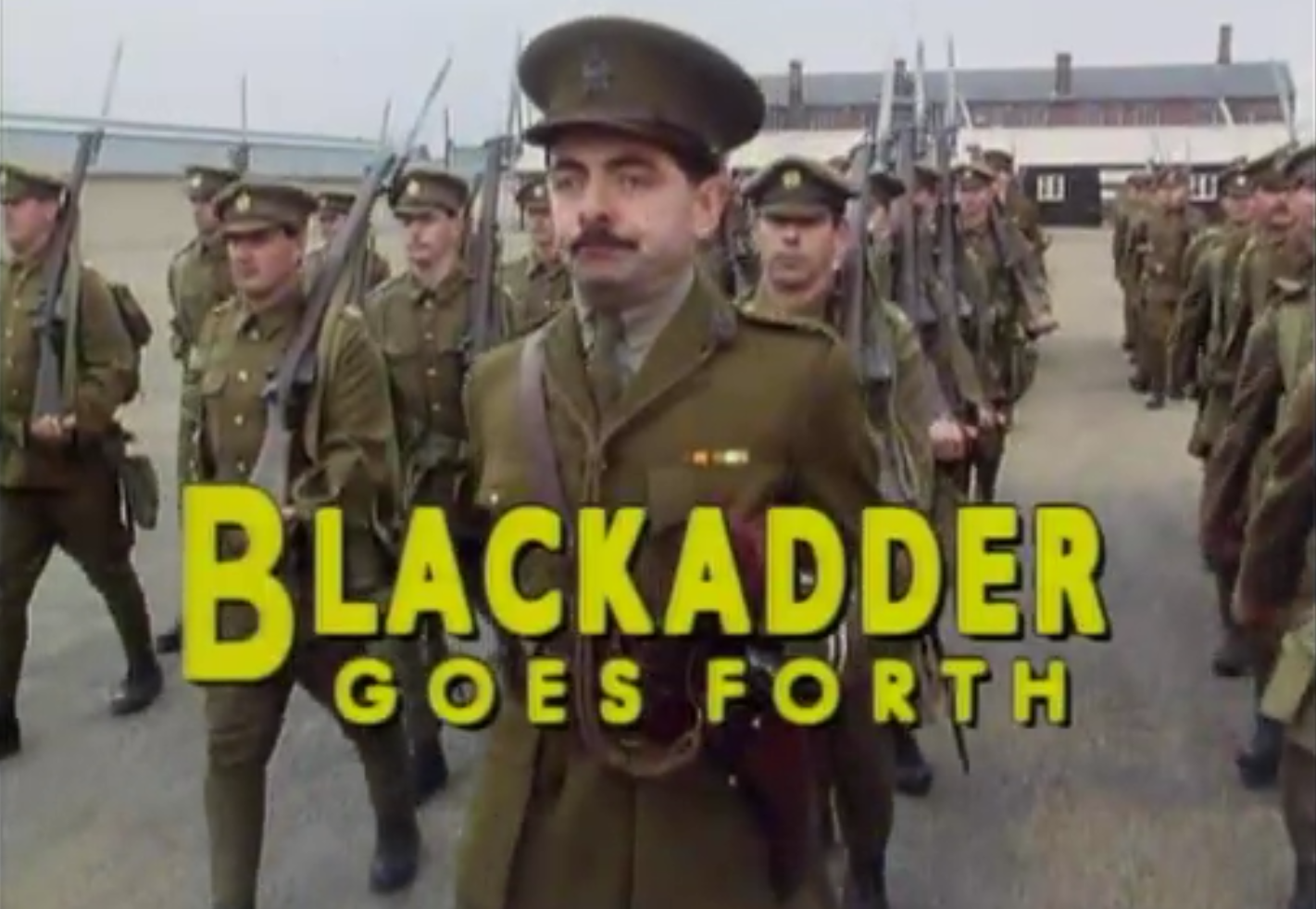 Blackadder goes forth essay