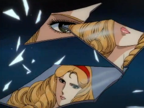 Miya-sama's reflections across broken shards of mirrors