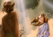 Kaoru confronts Miya-sama under the elm tree