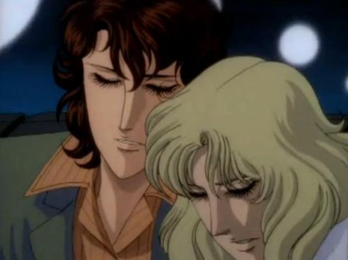 Kaoru comforts Saint Juste-sama in a taxi