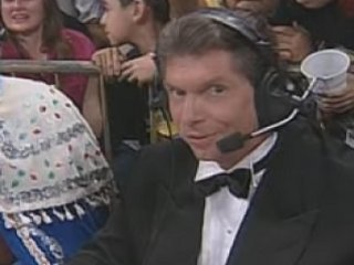Vince McMahon, self-proclaimed mastermind
