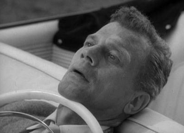 "Joseph Cotton in Alfred Hitchcock Presents, ""Breakdown"""