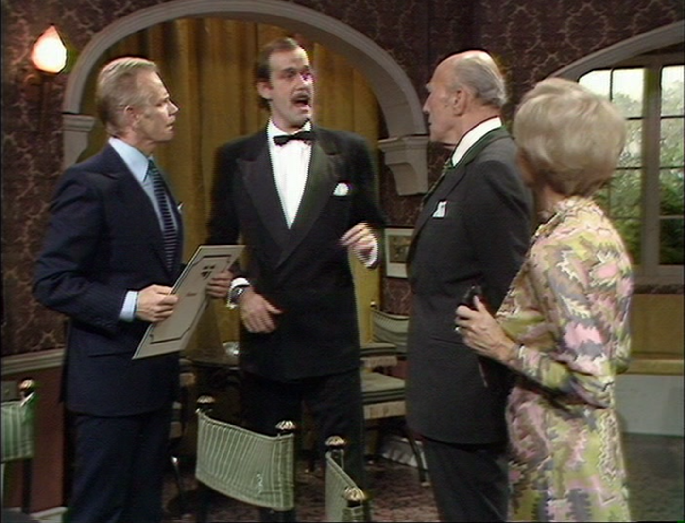 "Review: Fawlty Towers, ""Gourmet Night"" and ""The Germans"" 