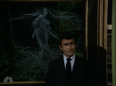 "Rod Serling in Night Gallery, ""The Phantom Farmhouse"""