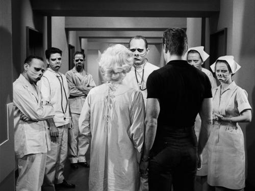 Resultado de imagem para the twilight zone pig face episode