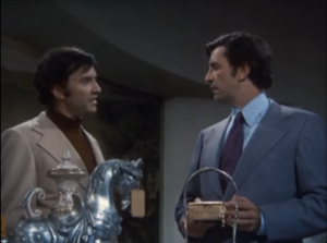"Martin Landau as Dexter Paris and Morgan Paris, Columbo, ""Double Shock"""