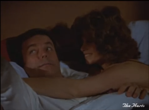 "Robert Wagner and Stefanie Powers as Jonathan and Jennifer Hart, Hart to Hart, ""Too Many Cooks Are Murder"""