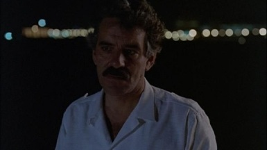 """Dennis Farina in Miami Vice, """"Lombard"""""""