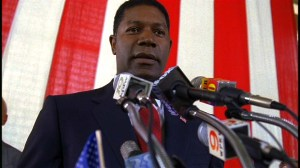 Dennis Haysbert as President David Palmer in 24