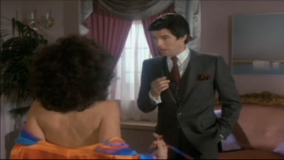 "Pierce Brosnan, Remington Steele, ""Steele Trap."""