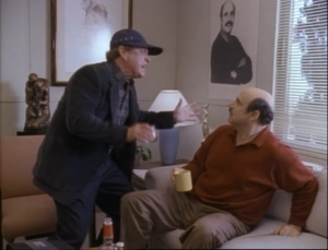 "Rip Torn as Artie and Jeffrey Tambor as Hank Kingsley, The Larry Sanders Show, ""The New Producer"""
