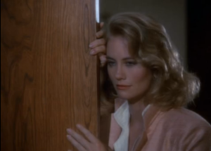 "Cybill Shepherd as Maddie Hayes, Moonlighting, ""The Lady in the Iron Mask"""