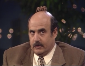 "Jeffrey Tambor as Hank Kingsley, The Larry Sanders Show, ""The Spider Episode"""