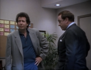 Garry Shandling as Larry Sanders and Rip Torn as Artie, The Larry Sanders Show.