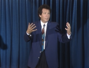 Garry Shandling as Larry Sanders, The Larry Sanders Show.