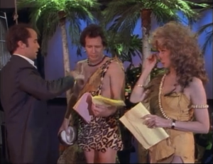"Jeremy Piven as Jerry, Garry Shandling and Carol Burnett, The Larry Sanders Show, ""The Spider Episode"""