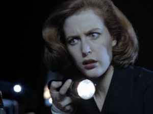 Gillian Anderson as Dana Scully, The X-Files, Grotesque