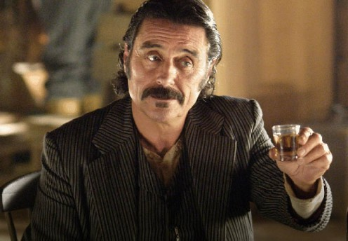 Ian McShane as Al Swearengen, Deadwood