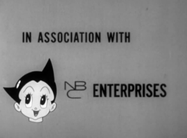 NBC Enterprises titlecard on Astro Boy