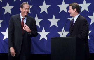Bill Bradley and Al Gore