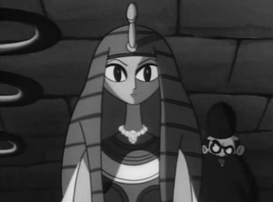 Cleopatra robot and Rasburton