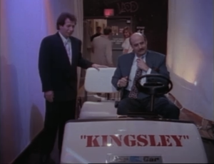 "Garry Shandling as Larry Sanders and Jeffrey Tambor as Hank Kingsley, The Larry Sanders Show, ""Hank's Contract"""