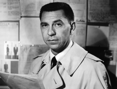 Jack Webb as Joe Friday, Dragnet