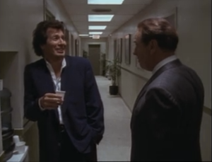 Garry Shandling as Larry Sanders, Rip Torn as Artie, The Larry Sanders Show