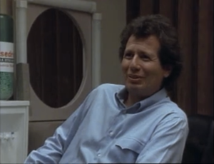 Garry Shandling as Larry Sanders, The Larry Sanders Show.