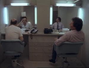 Jeffrey Tambor as Hank Kingsley and Garry Shandling as Larry Sanders, The Larry Sanders Show