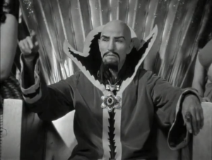 Charles B. Middleton as Ming the Merciless, Flash Gordon