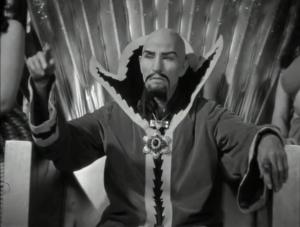 Charles B. Middleton as Ming the Merciless, Flash Gordon