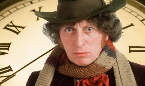 Tom Baker as The Fourth Doctor, Doctor Who