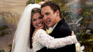 Topanga and Cory get married on Boy Meets World