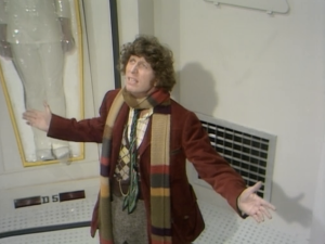 "Tom Baker as The Fourth Doctor, Doctor Who, ""The Ark in Space"""