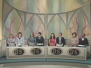 Contestants of the Newlywed Game