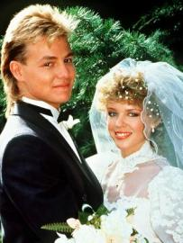 Scott and Charlene from Neighbours