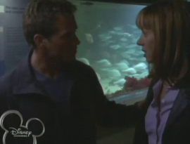 """Molly and Lal at the aquarium. """"Fathom"""""""